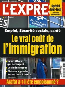 Bobard commercial : L'Express et sa Une « choc »