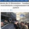 2# - La rédaction du Figaro pour un « bobard par détournement d'image »