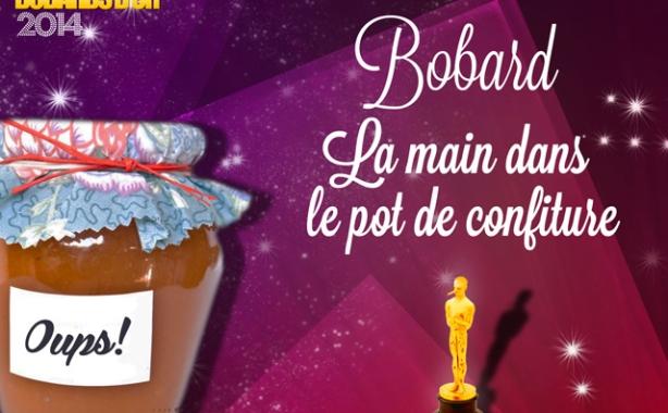 Prix spécial du jury : le Bobard « La Main dans le pot de confiture » décerné à l'hebdomadaire Marianne
