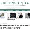 #3 - Huffington Post : baiser lesbien d'athlètes hétérosexuelles, quand le Gai Bobard cache un bobard antirusse